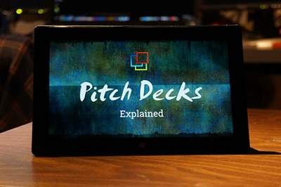 What's a Pitch Deck?